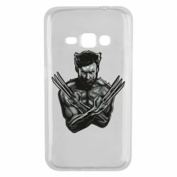 Чехол для Samsung J1 2016 Logan Wolverine vector