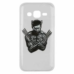 Чехол для Samsung J2 2015 Logan Wolverine vector