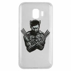 Чехол для Samsung J2 2018 Logan Wolverine vector