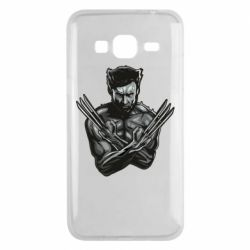 Чехол для Samsung J3 2016 Logan Wolverine vector