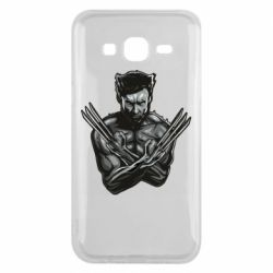Чехол для Samsung J5 2015 Logan Wolverine vector