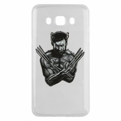 Чехол для Samsung J5 2016 Logan Wolverine vector