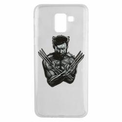 Чехол для Samsung J6 Logan Wolverine vector