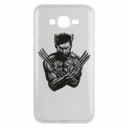 Чехол для Samsung J7 2015 Logan Wolverine vector