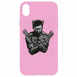 Чехол для iPhone XR Logan Wolverine vector