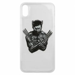 Чехол для iPhone Xs Max Logan Wolverine vector