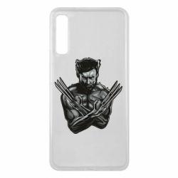 Чехол для Samsung A7 2018 Logan Wolverine vector