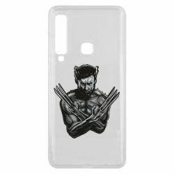 Чехол для Samsung A9 2018 Logan Wolverine vector