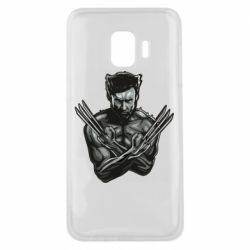 Чехол для Samsung J2 Core Logan Wolverine vector