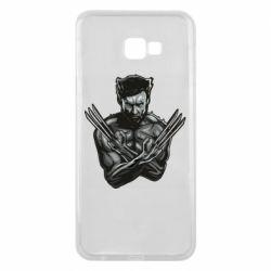 Чехол для Samsung J4 Plus 2018 Logan Wolverine vector
