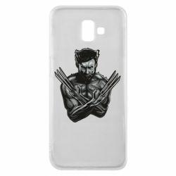 Чехол для Samsung J6 Plus 2018 Logan Wolverine vector