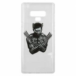 Чехол для Samsung Note 9 Logan Wolverine vector