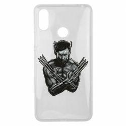 Чехол для Xiaomi Mi Max 3 Logan Wolverine vector