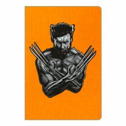 Блокнот А5 Logan Wolverine vector