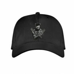 Детская кепка Logan Wolverine vector
