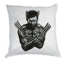 Подушка Logan Wolverine vector