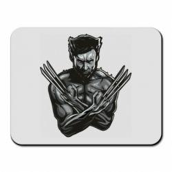Коврик для мыши Logan Wolverine vector