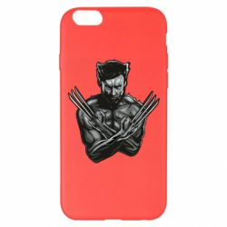 Чехол для iPhone 6 Plus/6S Plus Logan Wolverine vector