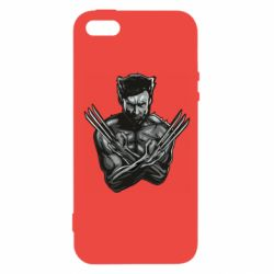 Чехол для iPhone5/5S/SE Logan Wolverine vector