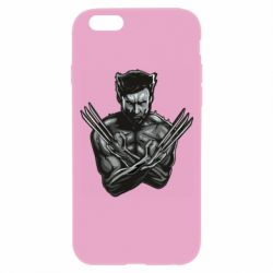 Чехол для iPhone 6/6S Logan Wolverine vector