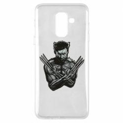 Чехол для Samsung A6+ 2018 Logan Wolverine vector