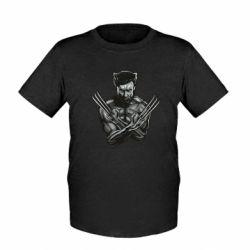 Детская футболка Logan Wolverine vector