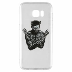 Чехол для Samsung S7 EDGE Logan Wolverine vector