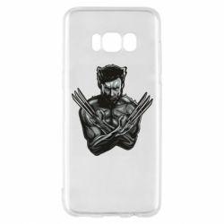 Чехол для Samsung S8 Logan Wolverine vector