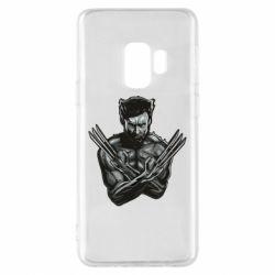 Чехол для Samsung S9 Logan Wolverine vector