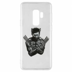 Чехол для Samsung S9+ Logan Wolverine vector