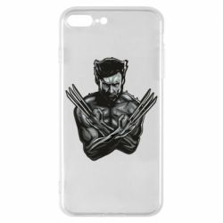 Чехол для iPhone 8 Plus Logan Wolverine vector