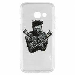 Чехол для Samsung A3 2017 Logan Wolverine vector