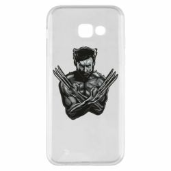 Чехол для Samsung A5 2017 Logan Wolverine vector