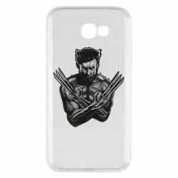 Чехол для Samsung A7 2017 Logan Wolverine vector