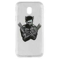Чехол для Samsung J3 2017 Logan Wolverine vector