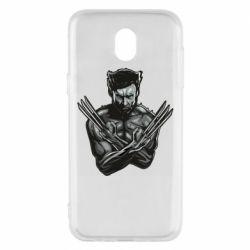 Чехол для Samsung J5 2017 Logan Wolverine vector