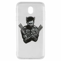 Чехол для Samsung J7 2017 Logan Wolverine vector