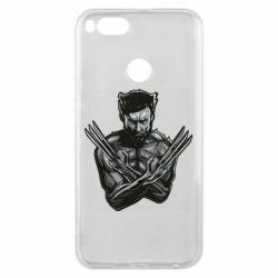 Чехол для Xiaomi Mi A1 Logan Wolverine vector
