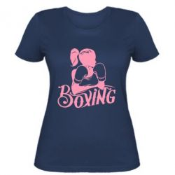 Женская футболка Women's Boxing