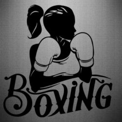 Наклейка Women's Boxing