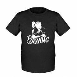 Детская футболка Women's Boxing
