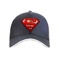 Кепка Women's breasts and logo superman