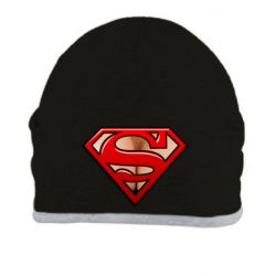Шапка Women's breasts and logo superman