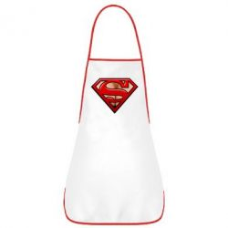 Фартух Women's breasts and logo superman