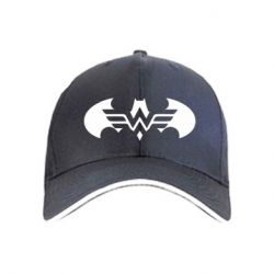 Кепка Wonder woman and batman logo