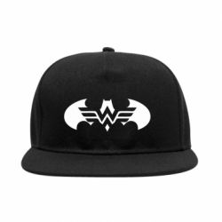 Снепбек Wonder woman and batman logo
