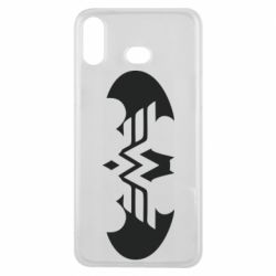 Чохол для Samsung A6s Wonder woman and batman logo