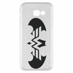 Чохол для Samsung A5 2017 Wonder woman and batman logo