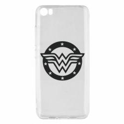 Чехол для Xiaomi Mi5/Mi5 Pro Wonder woman logo and stars