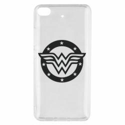 Чехол для Xiaomi Mi 5s Wonder woman logo and stars